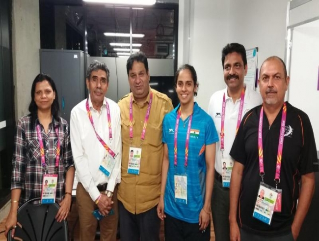 After Twitter rap, Saina Nehwal thanks IOA as father granted CWG Village access
