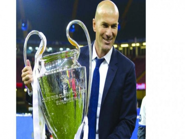 Zinedine Zidane timed his departure to perfection