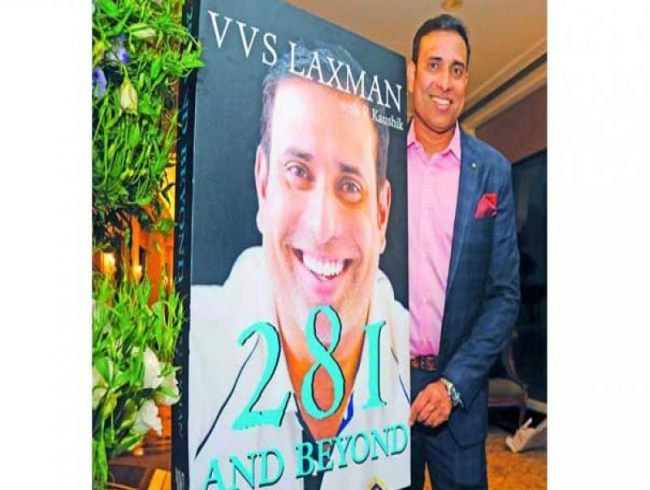 It's an honest book that traces my journey: VVS Laxman