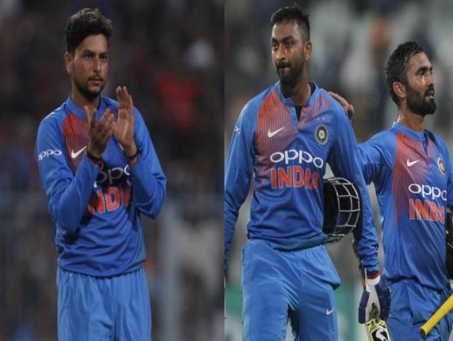 Watch: Kuldeep Yadav, Krunal Pandya, DK seal India's T20 win vs Windies in Kolkata