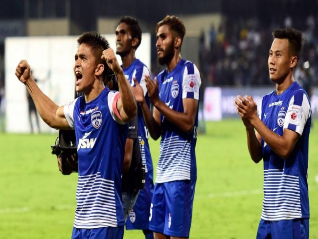 Sunil Chhetri helps Bengaluru FC beat FC Pune City to enter Indian Super League final