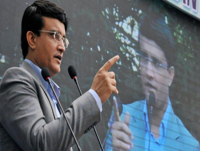 Current Covid-19 situation is like Test match on a dangerous wicket: Ganguly