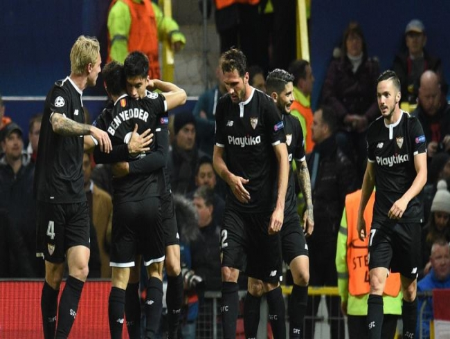 Champions League: Seville stun Manchester United at Old Trafford, enter quarter-final