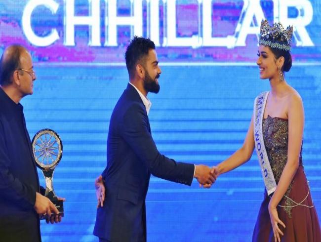Virat Kohli's response to Miss World Manushi Chhillar's question is winning hearts