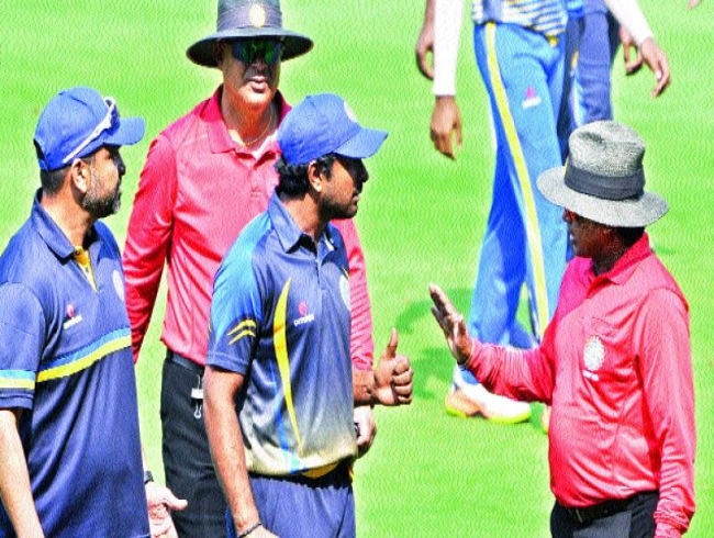 Syed Mushtaq Ali Trophy: Hyderabad lose a controversial game
