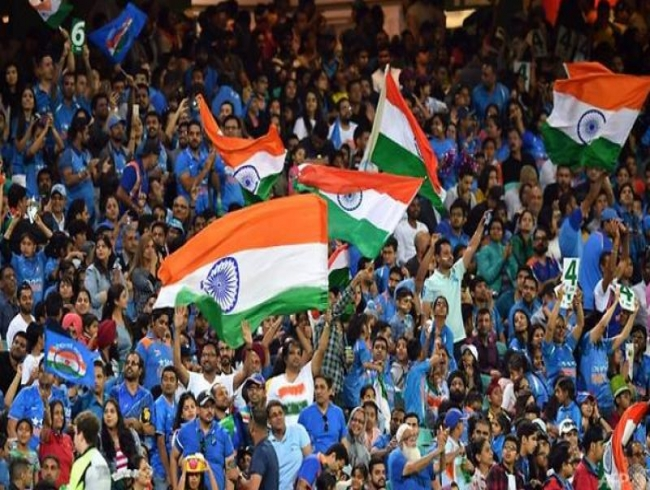 Indian summer as 'Swami Army' flock to Aussie cricket grounds