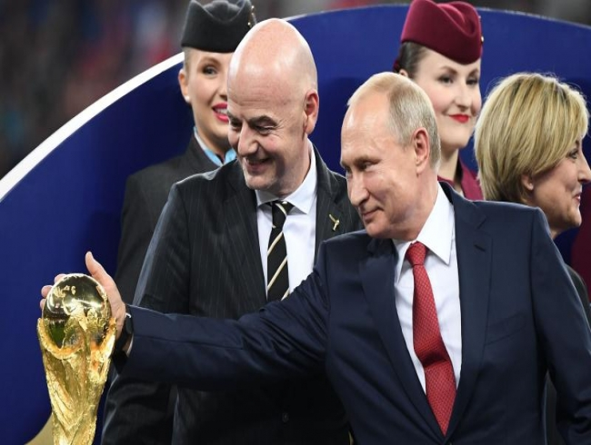 President Vladimir Putin gives World Cup fans visa-free Russia entry all year
