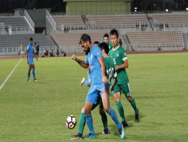 Asian Cup 2019 qualifiers: Balwant Singh's double helps India beat Macau 2-0
