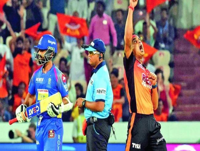 IPL 2018: Sunrisers Hyderabad pin Rajasthan Royals down