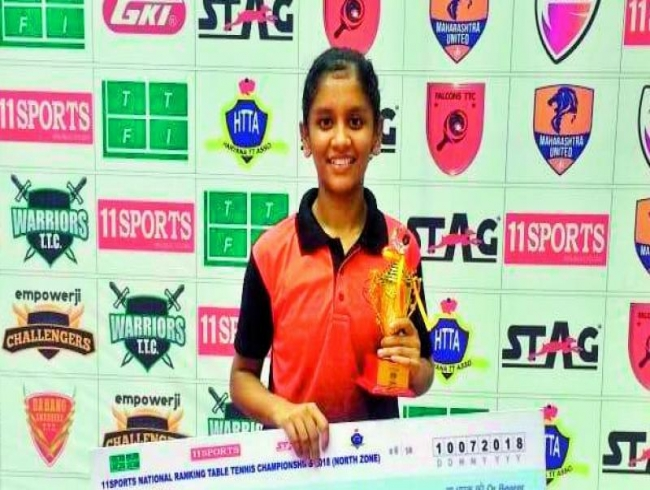 Table Tennis Championships: Akula Sreeja is champion; Snehit second best