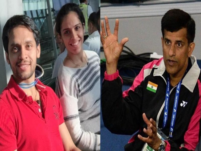 Vimal Kumar lauds Saina for not letting relationship with P Kashyap affect her game