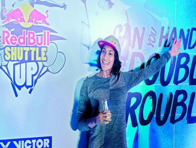 Doubles the way for Ashwini Ponnappa