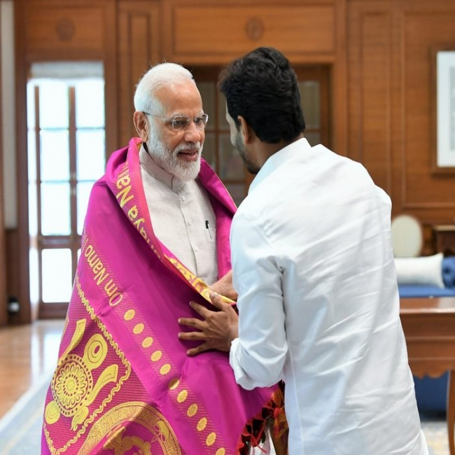 Jagan Meets Modi