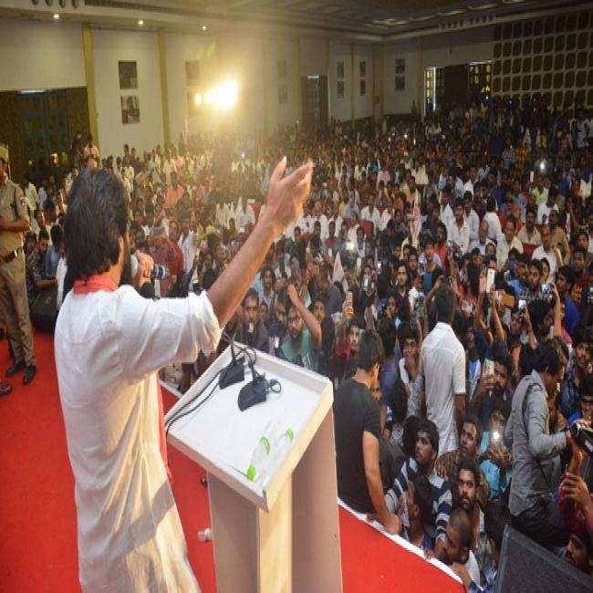 Mega Fans With Jana Sena