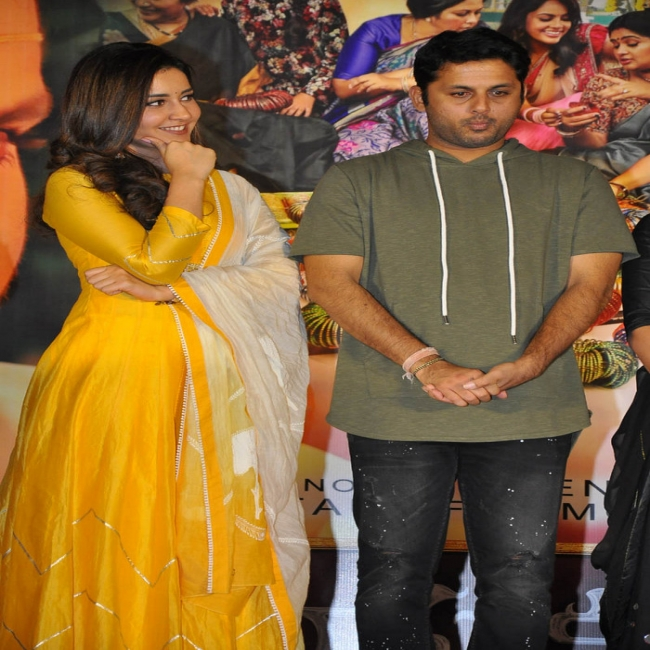 Srinivasa Kalyanam Pre Release Event