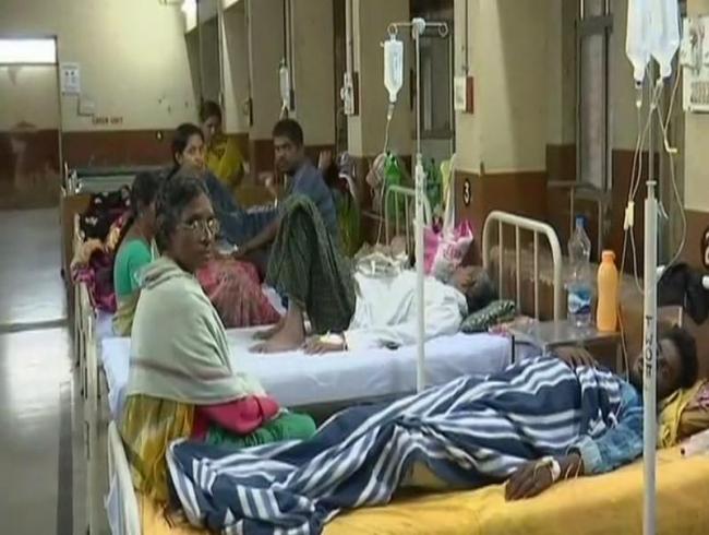 Khammam in the grip of viral fevers, dengue
