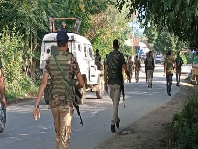 Two militants killed in encounter with security forces in J&K's Baramulla