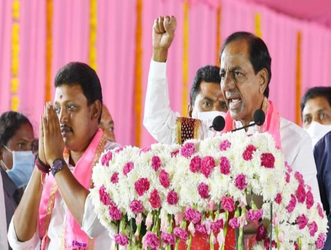 Nagarjunasagar bypoll: Massive TRS campaign shows clear edge for TRS
