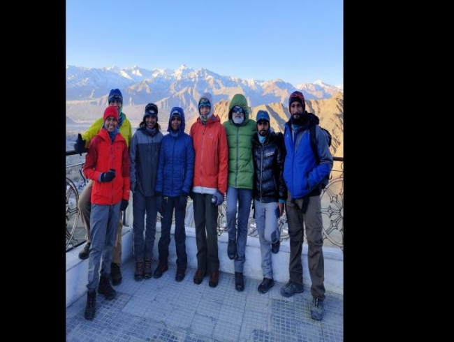 Hyderabad mountaineers register first winter ascent