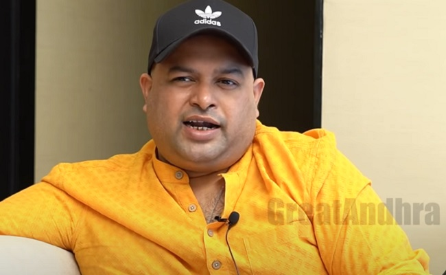 Thaman: 'I Get Carried Away By His Aura'