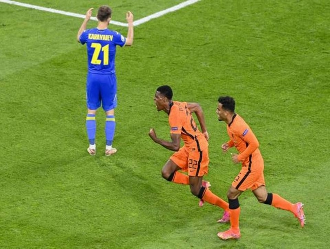 Euro 2020 | Dumfries gives Dutch dramatic win over Ukraine on return to big time