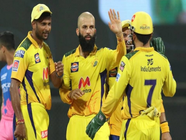IPL 2021 | Moeen and Jadeja trap Royals in web of spin