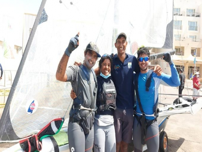 Ganapathy, Varun team up to compete in 49er skiff at Tokyo Olympics