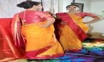 Sara Loren dazzles in a sari